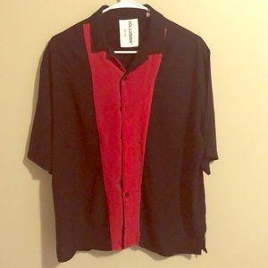Collusion half sleeve stylish shirt